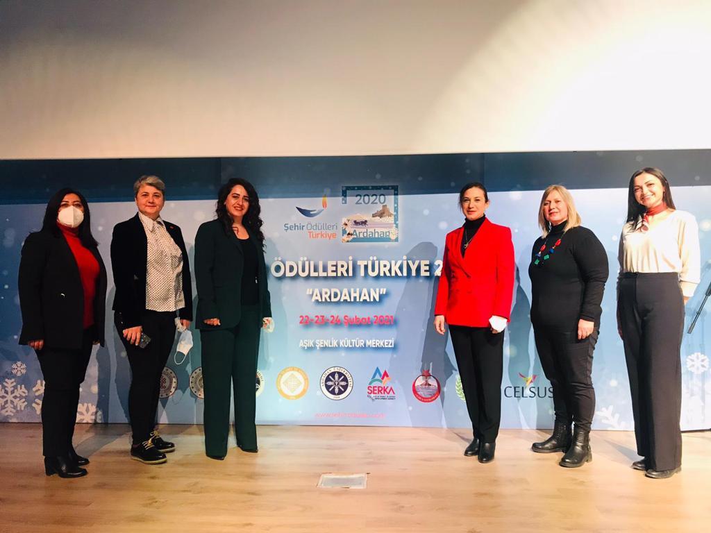 Selçuk Belediye'si Efeslim Kart ile Umut Işığı Şehir Ödülü'nü kazandı