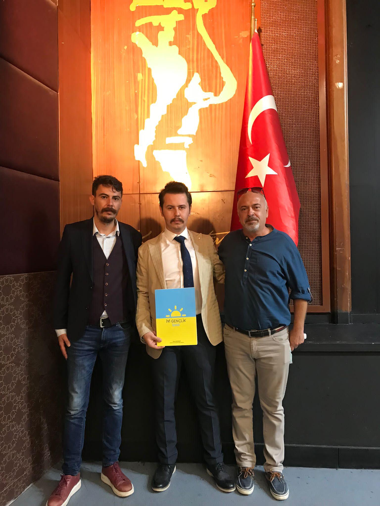 İYİ Parti Seferihisar Gençlik Kolları Başkanı belli oldu